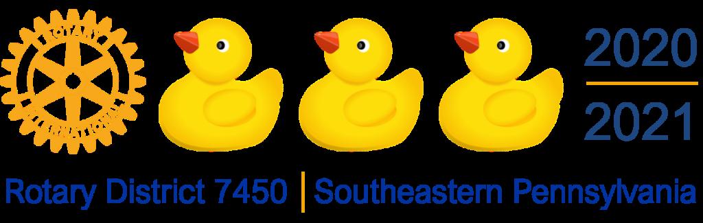 Rotary District 7450 Theme Logo 2020-21